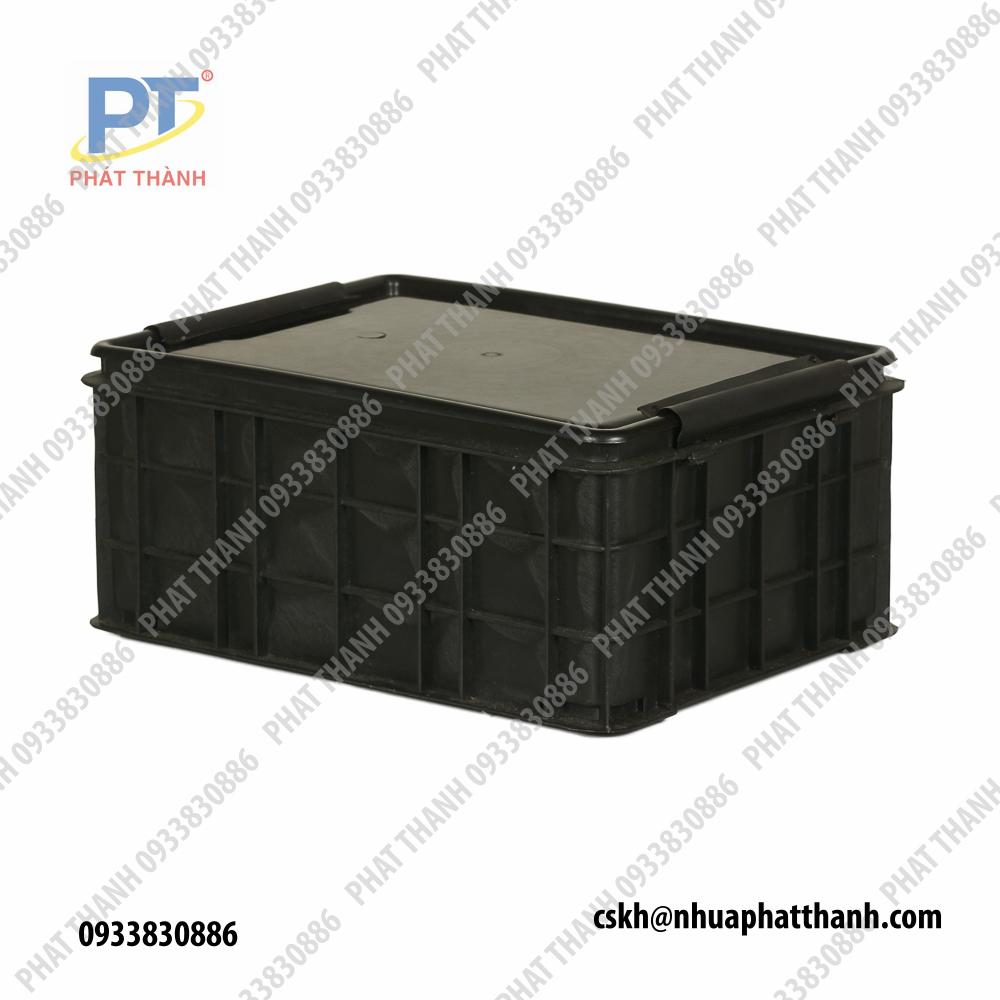 Khay sứa, khay nhựa lớn ( thùng nhựa - Khay nhựa lớn ) có nắp PT001