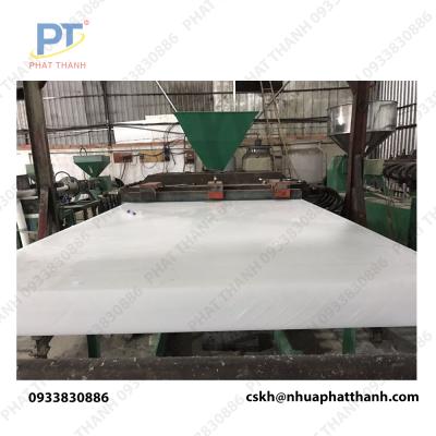 mặt trước Thớt nhựa công nghiệp HCM, Hà Nội loại dày 1 cm – cỡ lớn ( 2 mặt trơn)