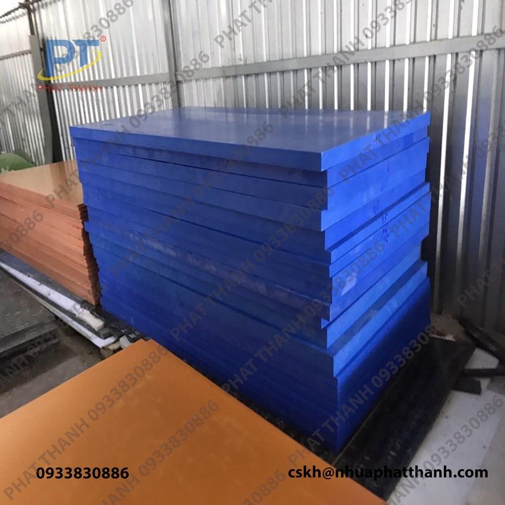 Tổng hợp các mẫu Thớt nhựa công nghiệp HCM, loại dày 1 cm – cỡ lớn ( 2 mặt trơn)