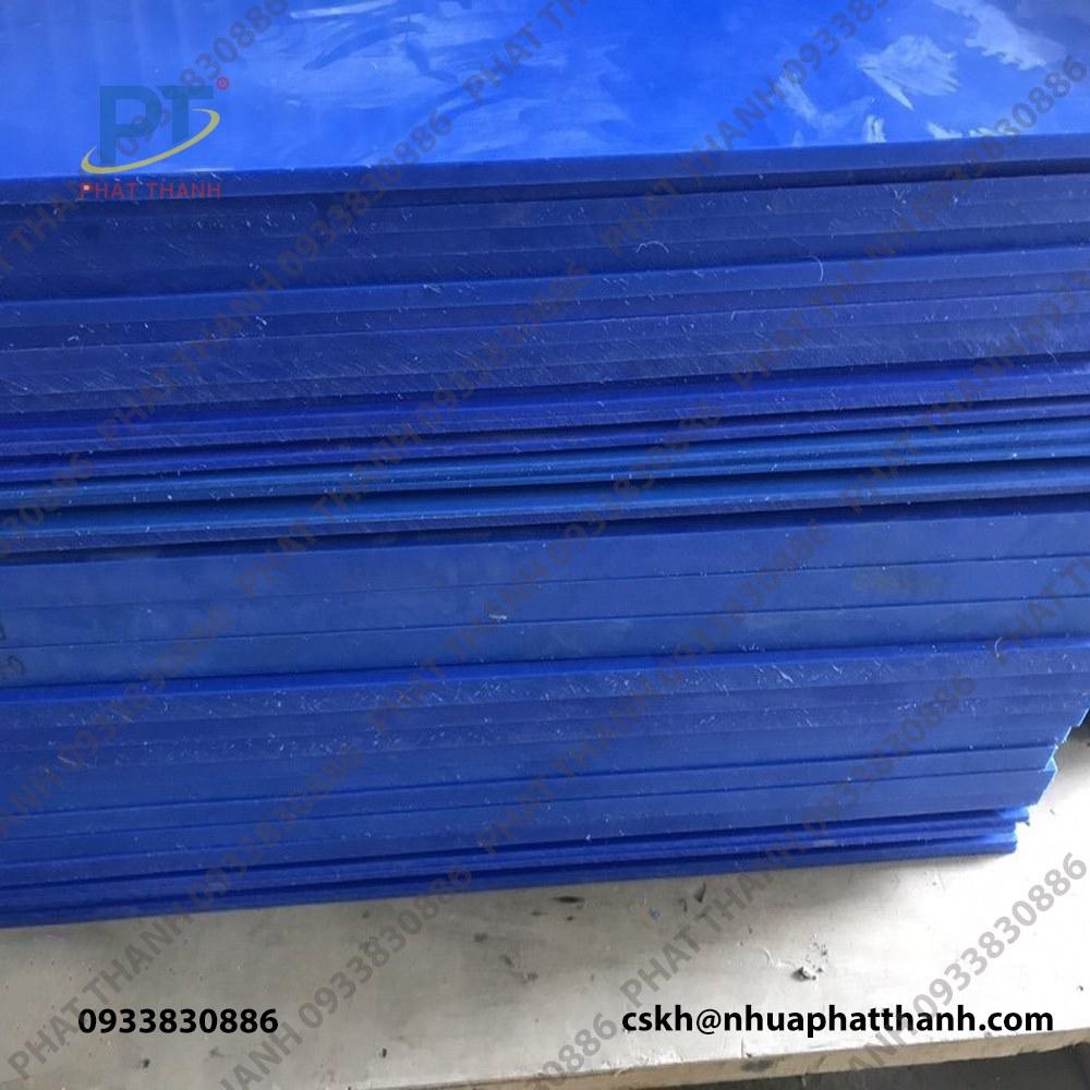 Thớt nhựa công nghiệp loại dày 4cm – cỡ lớn ( 2 mặt trơn )