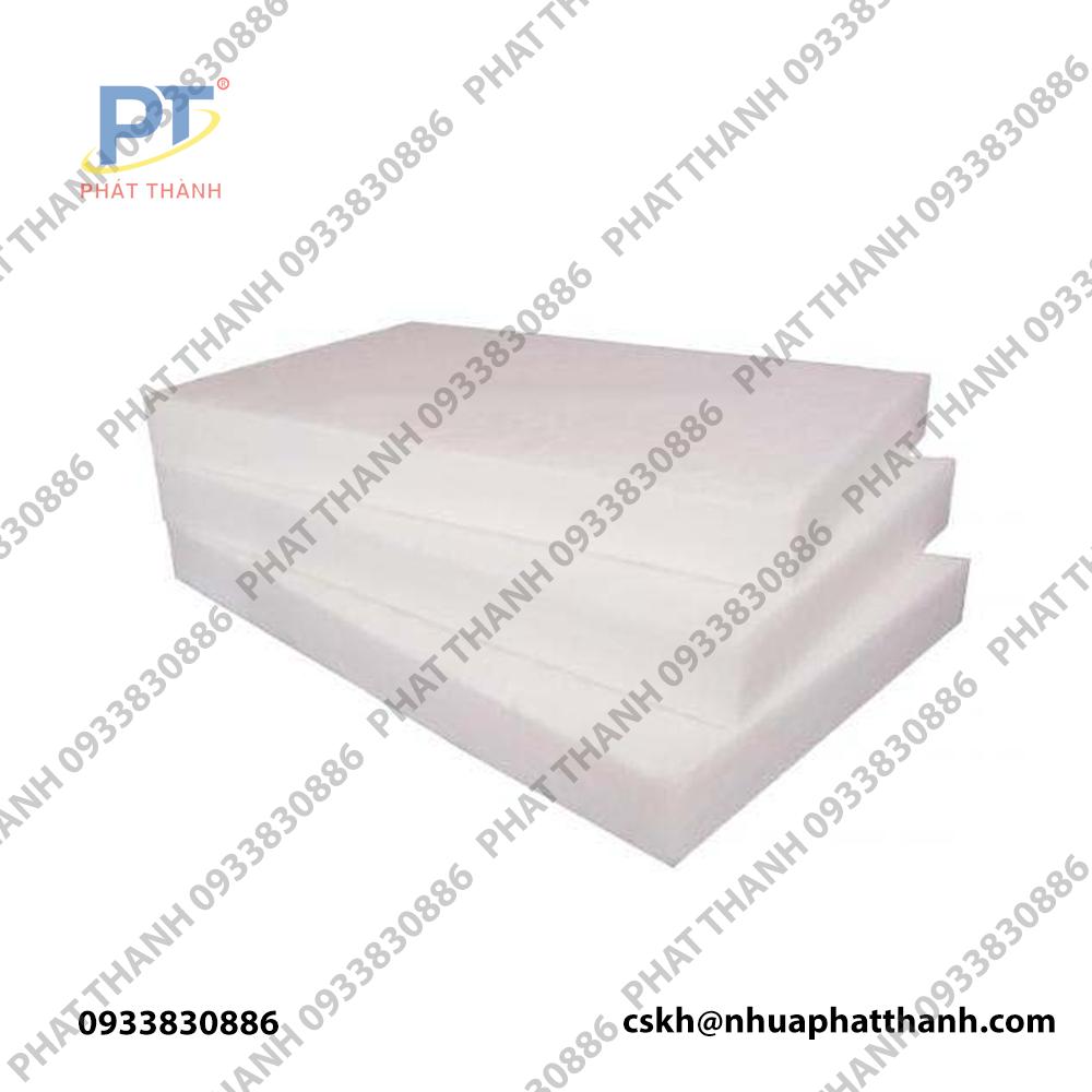 Tấm thớt nhựa công nghiệp HCM loại dày 5cm – cỡ lớn ( 2 mặt trơn)