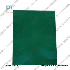 Thớt nhựa màu ( xanh đậm 2 mặt) dày 3 cm khổ to – PTTGD4