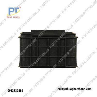 Khay sứa ( thùng nhựa đặc ) có nắp PT001