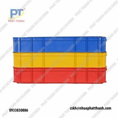 Thùng nhựa đặc HS025