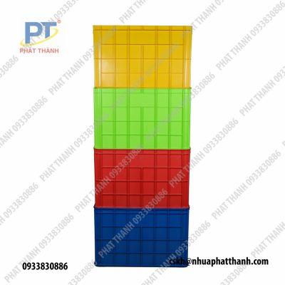 Thùng nhựa đặc HS026