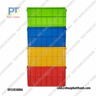 thùng nhựa đặc HS019
