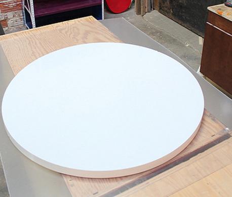 Thớt nhựa công nghiệp dạng hình tròn