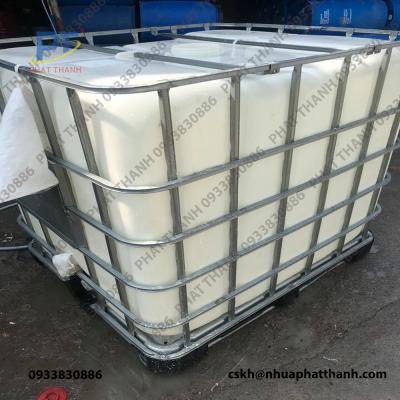 Bồn nhựa 1000L ( Tank IBC ) đã qua sử dụng