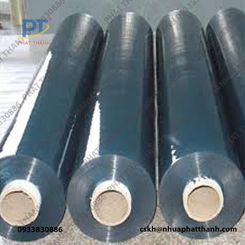 Màng nhựa PVC trong dạng cuộn 0.08mm x 1.6m x 200m