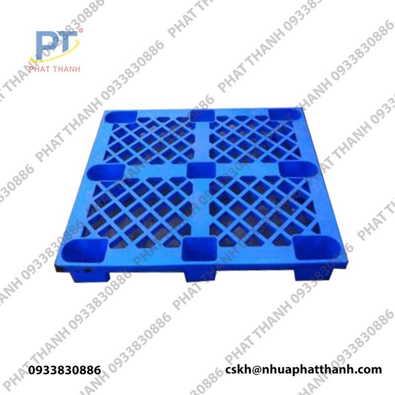 Pallet chân cốc xanh dương 1100x1100x145mm