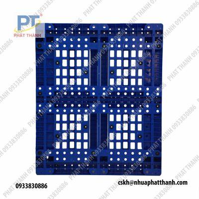 Pallet nhựa PL11LK màu xanh dương