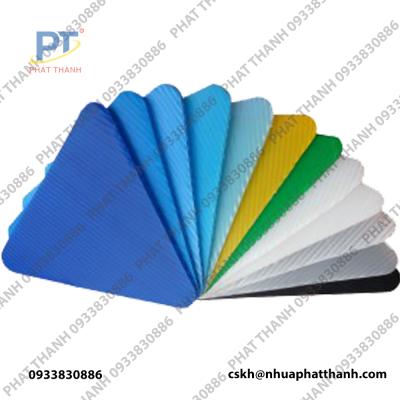 Tấm nhựa Danpla với đa dạng các màu sắc khác