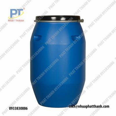 Thùng Phuy Nhựa 120L đai nhựa đai sắt