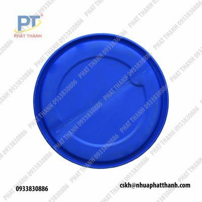 Thùng Phuy nhựa 220L Đai Sắt