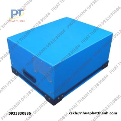 Mặt đáy thùng nhựa pp, tấm nhựa danpla tại Hà Nội loại có nắp, đặc, dung tích lớn, chống tĩnh điện