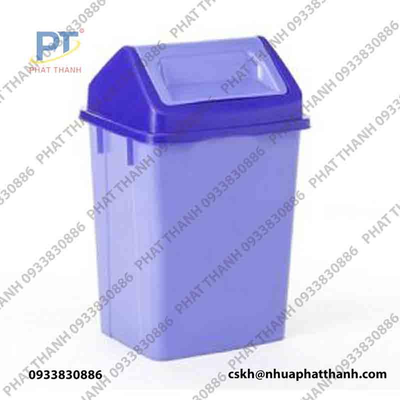 Thùng rác lật 2 mặt