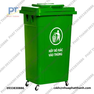 Thùng rác nhựa TR 60L
