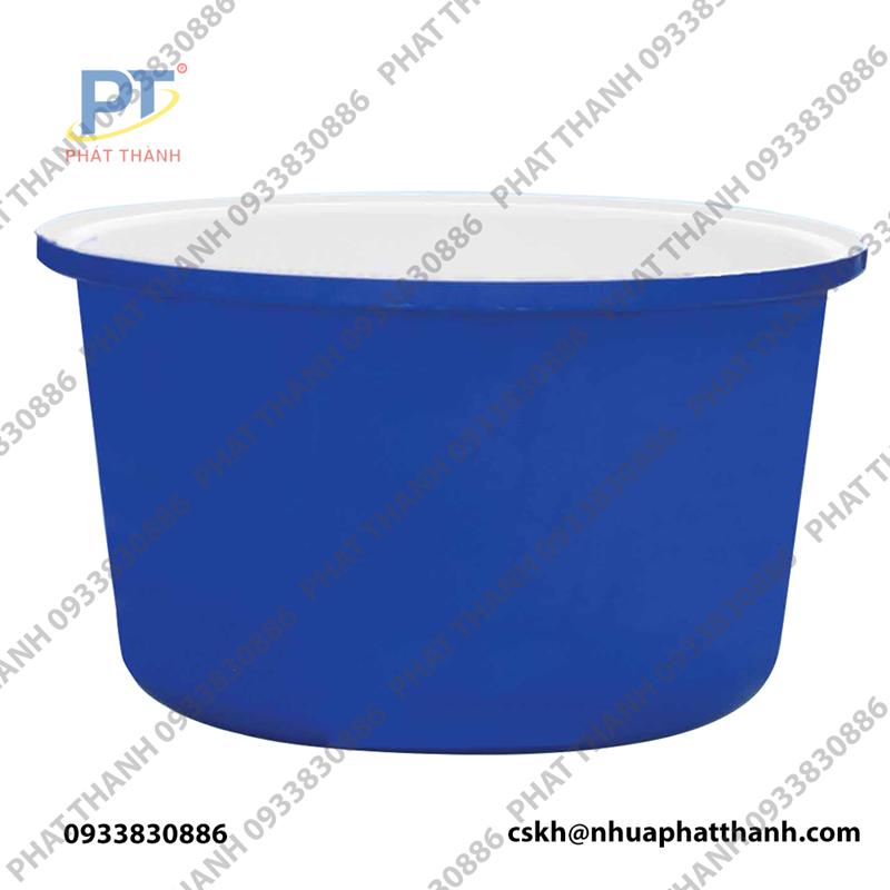 Thùng nhựa tròn 1000 lít 2 lớp (dùng nhuộm vải)