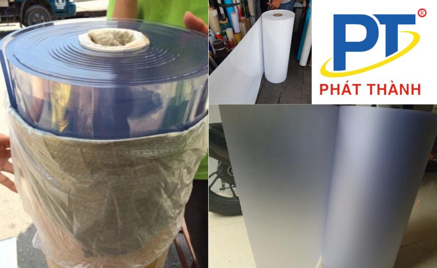 Cuộn màng nhựa PVC cứng cung cấp bởi NHUAPHATTHANH
