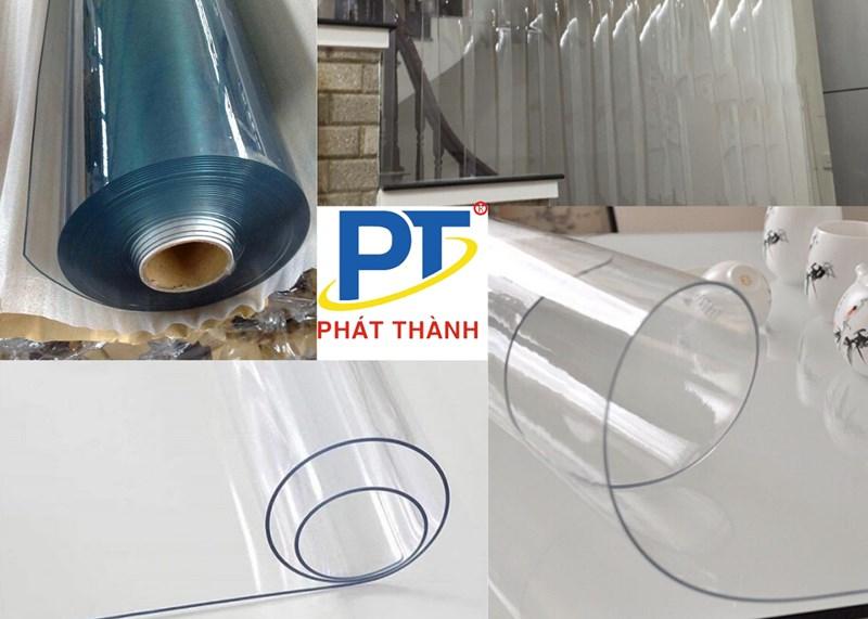 Cuộn màng nhựa PVC trong suốt dẻo NHUAPHATTHANH cung cấp