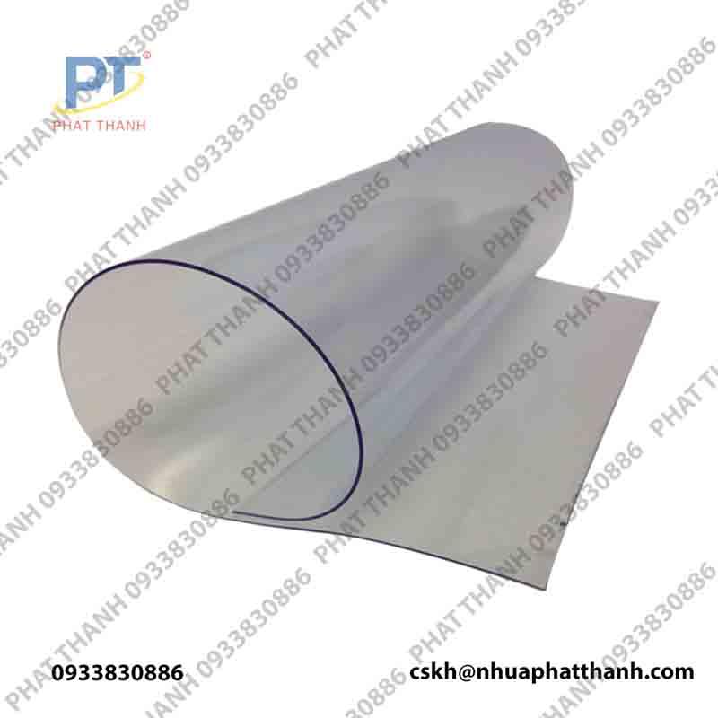 Màng nhựa PVC trong dạng cuộn 0.7mmx1.4mx30m