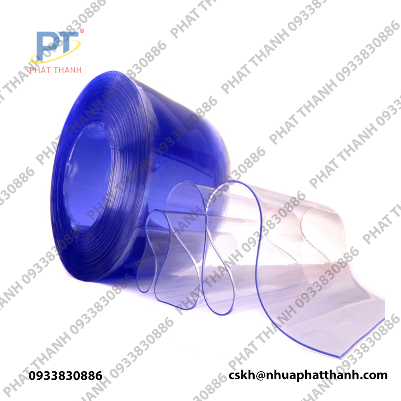 Màng nhựa PVC trong dạng cuộn 0.15mmx1.6mx100m