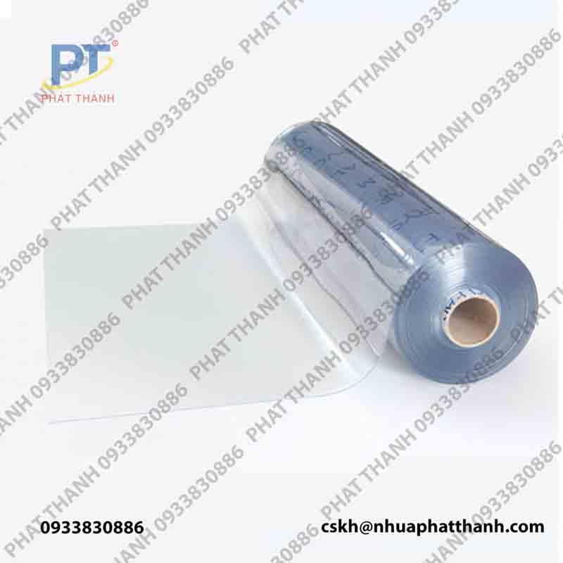 Màng nhựa PVC trong dạng cuộn 0.05mmx1.6mx200m