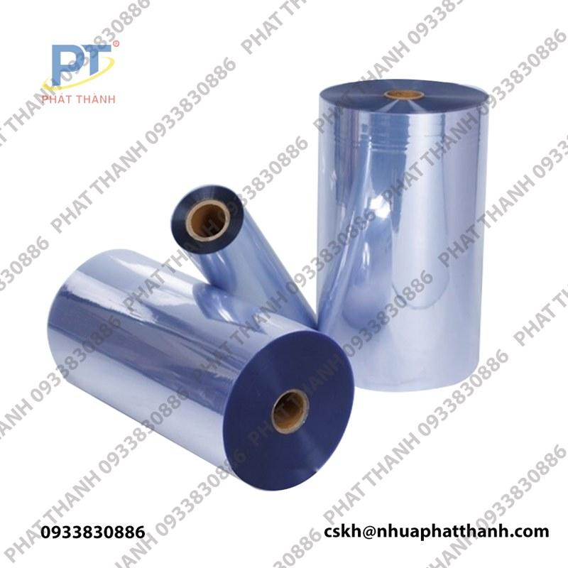Màng nhựa PVC trong dạng cuộn 0.7mmx1.2mx30m
