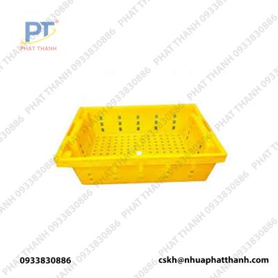 Thùng nhựa rỗng HS002 ( Sóng cá )