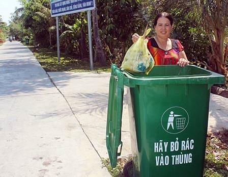 Khả năng chống mưa chống nắng của thùng rác nhựa
