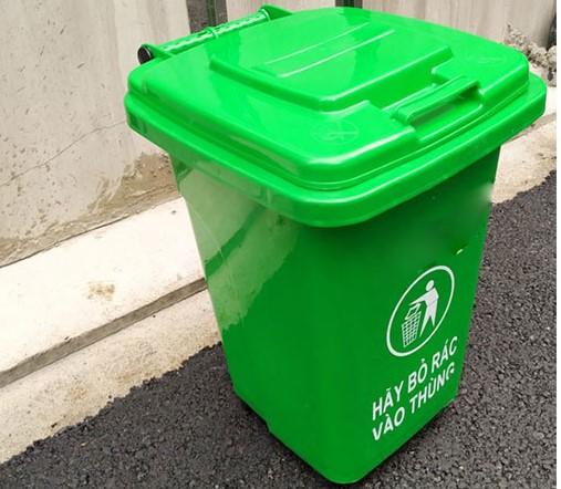 Thùng rác nhựa công nghiệp 240 lít chống tia UV khi để ngoài trời
