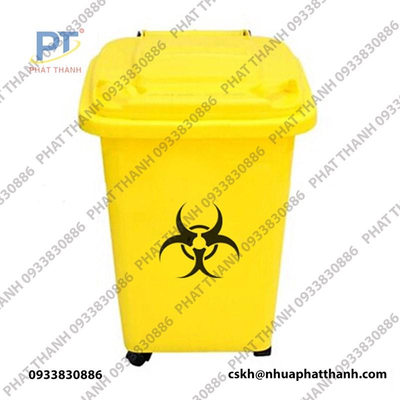 Thùng rác y tế 60L