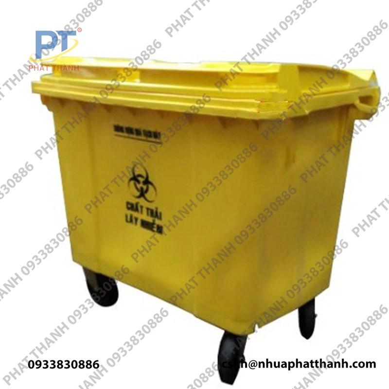 Thùng rác y tế 660L