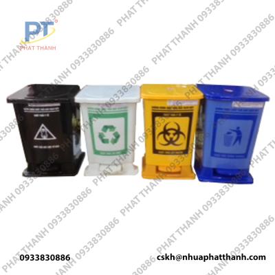 4 Mẫu thùng rác y tế chân đạp