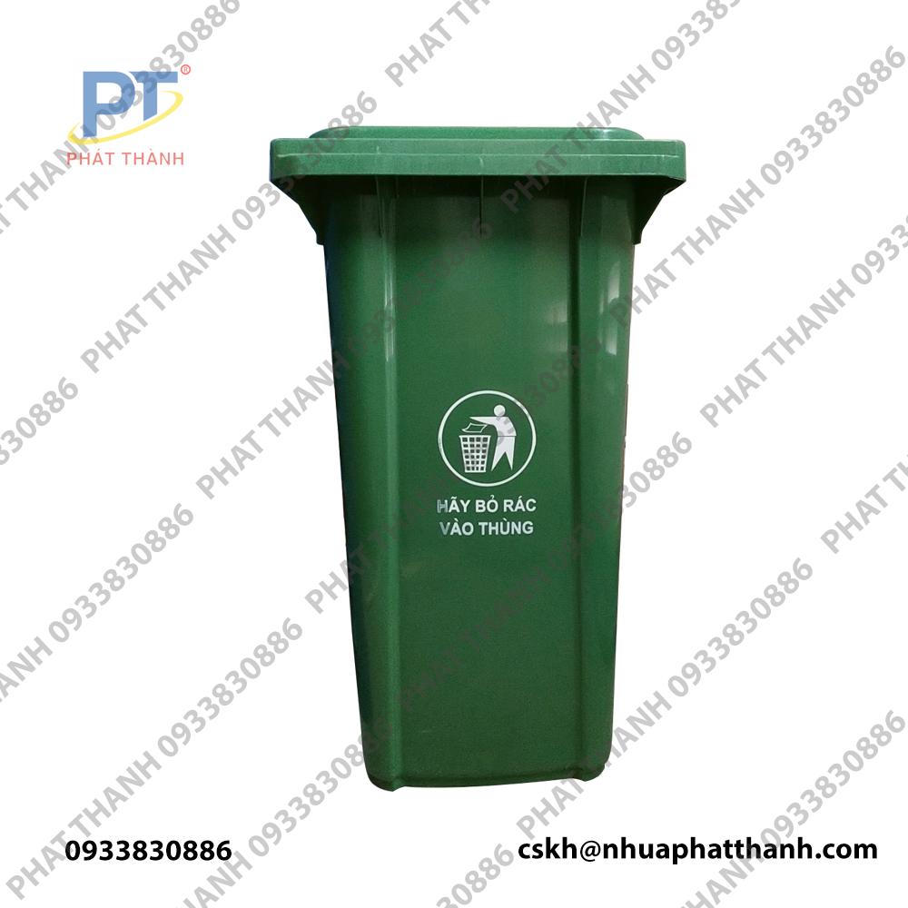 bề ngang thùng rác công cộng 240 lít