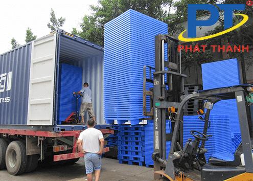 Kệ Pallet nhựa công nghiệp PP và HDPE