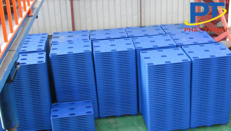 Kệ Pallet nhựa trong công nghiệp xuất khẩu