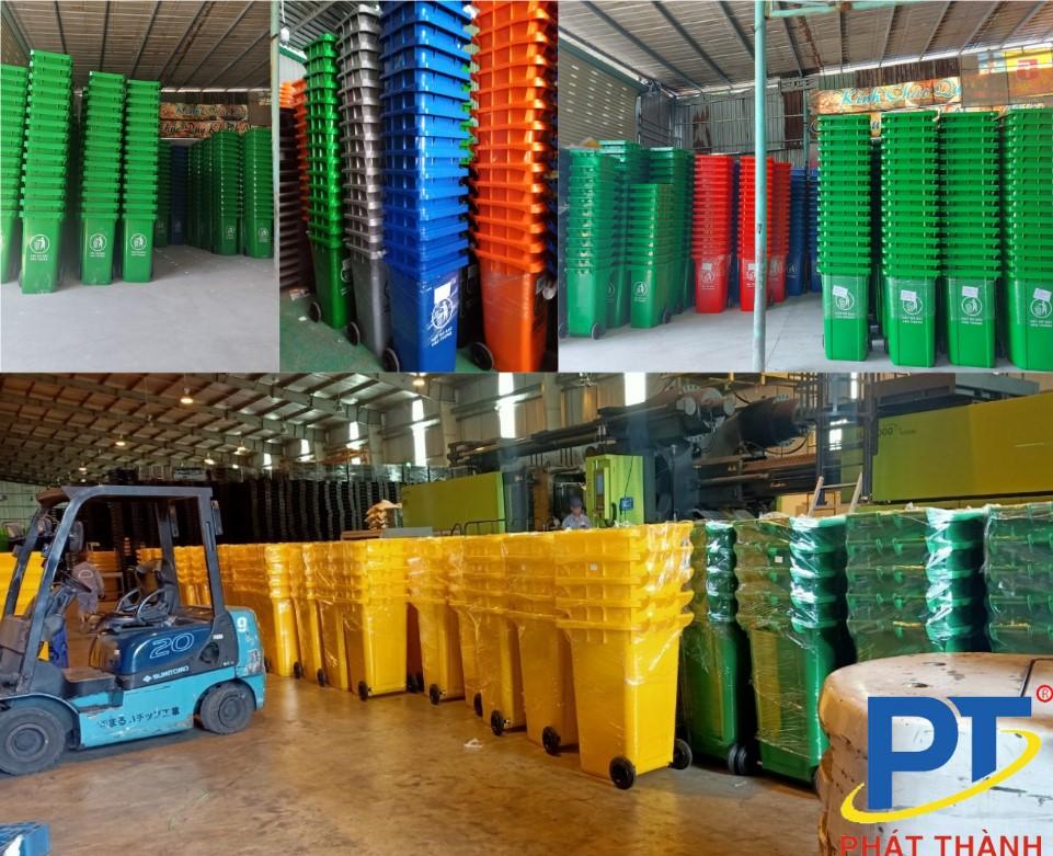 Các sản phẩm thùng rác từ Nhựa Phát Thành