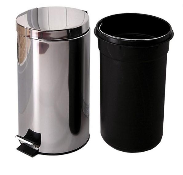 Thùng rác inox có chân đạp
