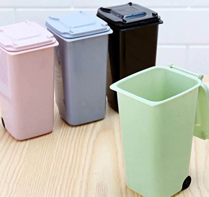 Thùng rác văn phòng có mẫu mã giống thùng rác công cộng không nên sử dụng