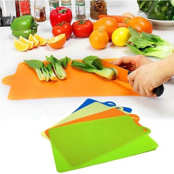 Cách sử dụng thớt nhựa mỏng để chế biến thức ăn