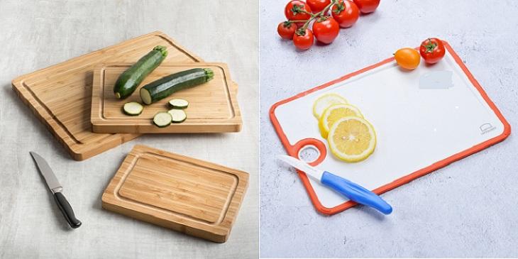 Vì sao nên sử dụng thớt nhựa thay vì thớt gỗ khi nấu ăn ?