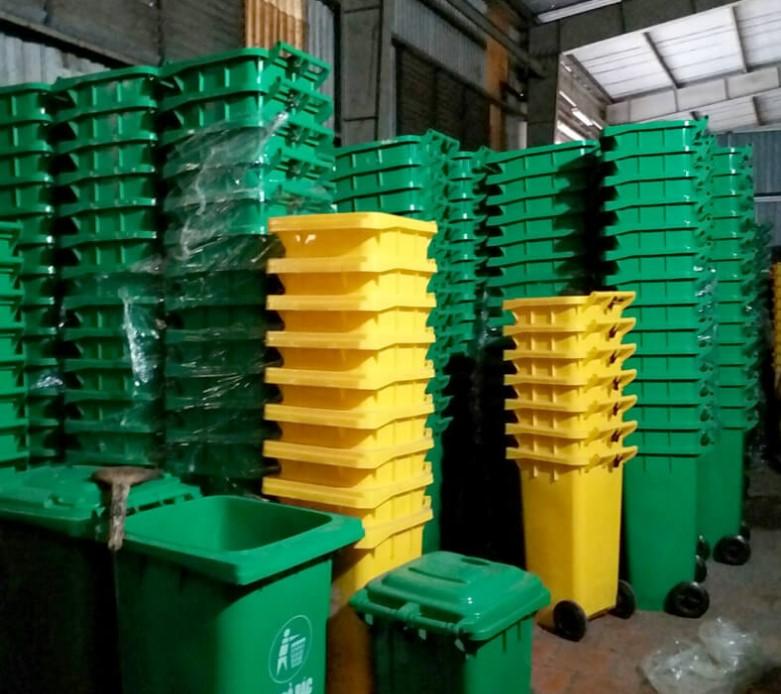 Thùng rác tái chế làm từ nhựa HDPE