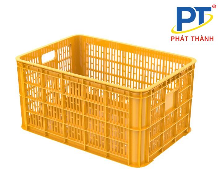 Đặc điểm chung của thiết kế thùng nhựa rỗng