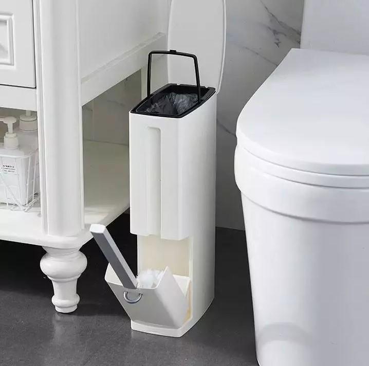 Đặt thùng rác trong nhà vệ sinh hoặc bồn tắm khách sạn