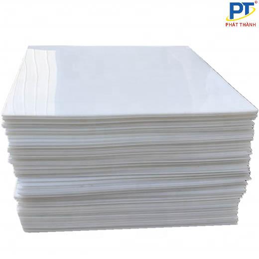 Tấm nhựa UHMWPE màu trắng