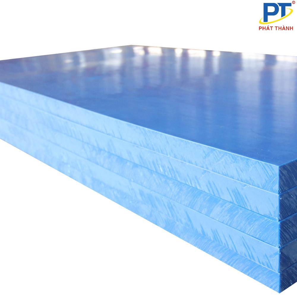 Tấm nhựa UHMWPE xanh dương