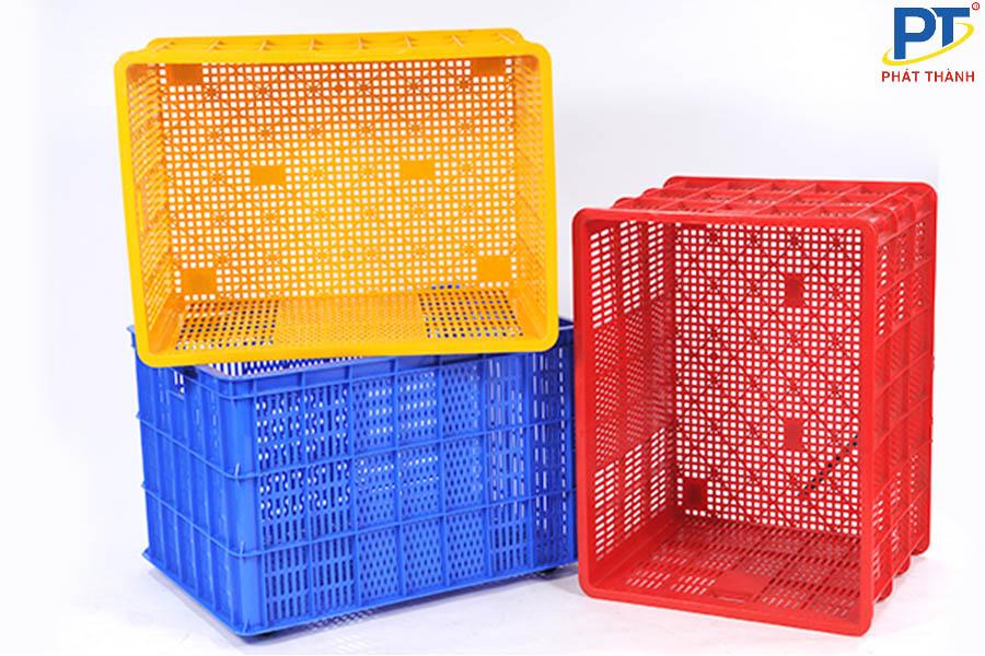 Sóng nhựa đa dạng về màu sắc