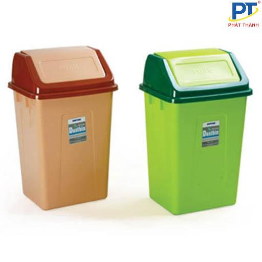 Thùng đựng rác có nắp lật