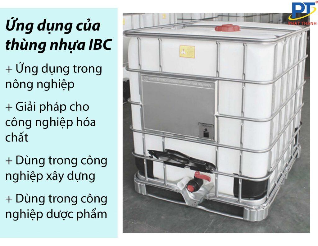 Ứng dụng của tank ibc